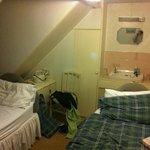 la petite chambre sous toit