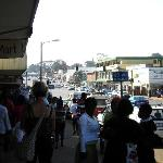 main drag of eshowe, on one of grahams tours