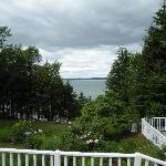 View from the porch Inn at Bay Ledge