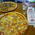 Hawaiian Pizza & Bolognes Pizza