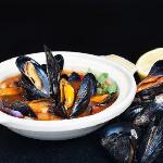 Fresh Galway mussels