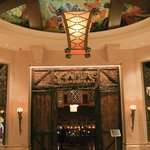 Entrance to Seafire Steakhouse