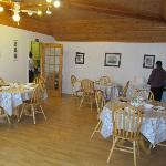 Triple Rose B&B dining room