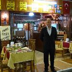Most charming host, Sahin, of the Efes Restaurant!