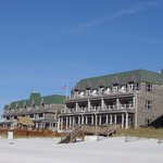 View of the Inn from the beach