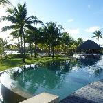 The Pool at the Four Seasons Bora Bora