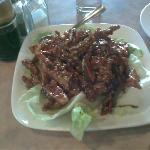 """Szechuan Ginger """"Beef"""""""