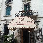 Entrance from the Via Lepanto.