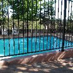 Unfortunately pool unusable as not heated