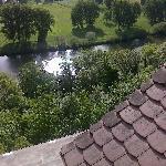 gleiche Perspektibe aus dem Hotel Neckarblick