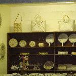 Handicrafts at the Majuro Airport