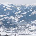 View from Kaprun slopes