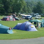 Camping at River Dart