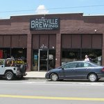 Asheville Brewing Exterior
