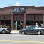 Asheville Brewing Exterior