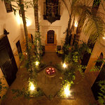Dar Jaguar Romantic Nighttime Courtyard
