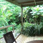 La terrasse dans la Pampa