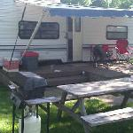 Our RV accommodation