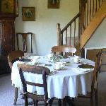 Breakfast at Tudor Cottage