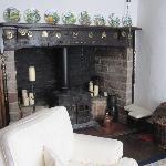 Spears Cross open fireplace