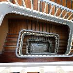 Tagus Home staircase from the top floor