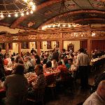 This is what you'd expect a Bavarian beer hall to look like!
