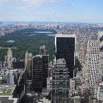 View from the Top of Rockefella Center