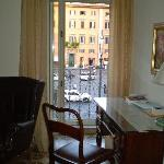 View from sitting room to P. Farnese