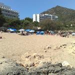 Spiaggia fine rocce
