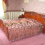 Letto della suite