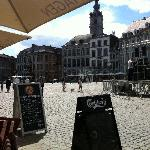 Main square in Mons