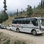 HPTDC Bus stuck in a Jam