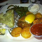 Fried seafood platter...almost $20 for this!