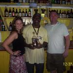 Samuel L Jackson owns a bar in Antigua