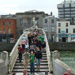 Ha'Penny Bridge just down Quay