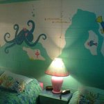 Sea Creatures on every wall