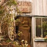 Henry Nolla's Carving Shed