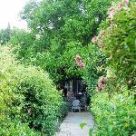 L'arrivée au Jardin de Lourmarin, un bonheur