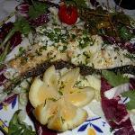 Local grilled Cernia