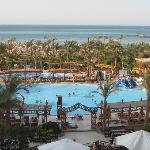 Pools and sea viea