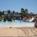 La  Resevera waterpark- children's area