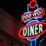 sign of doo wop diner