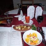 My wonderful dinner