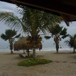 La playa desde la suite