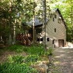 Gretnas: Surrounded by a peaceful forest includes a private sauna.