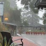 Nainital Rains From The Hotel Window