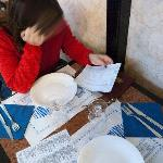tavolo e menù