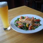 Sudden Summer Salad w/ Sebago Hefeweizen