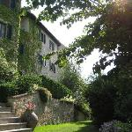 the poggiolo apartments from the garden
