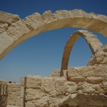 Nabatean Avdat Acropolis